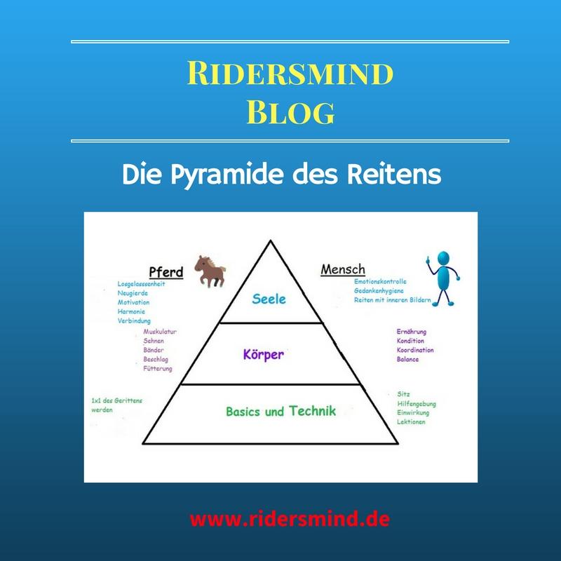 Die Pyramide des Reitens