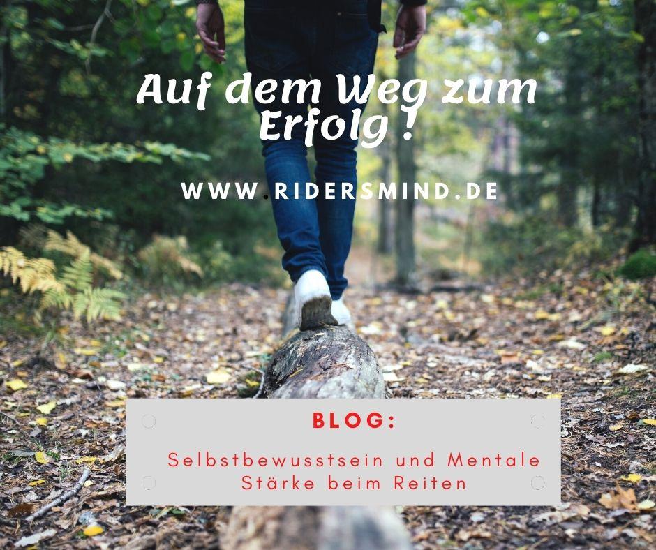 Mental starker Reiter: Selbstbewusstsein und positive Gedanken