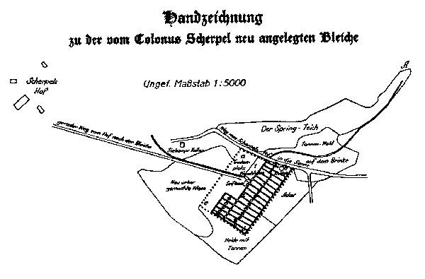 Entnommen aus: H. Schmidt: Hundert Jahre Arbeit – Hermann Windel GmbH Windelsbleiche. Bielefeld 1933.