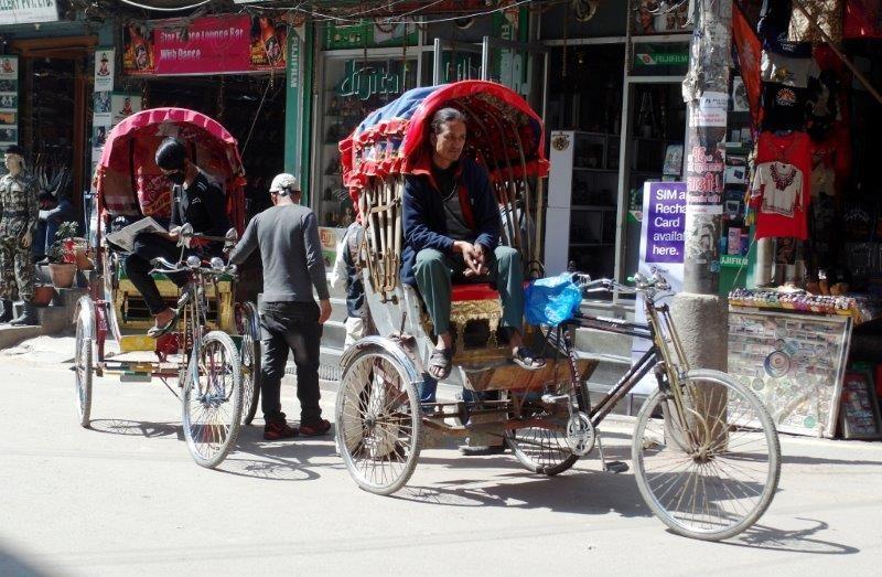 Nach 5 Tagen Warten dann doch endlich in Kathmandu...