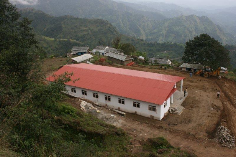 Gesundheitszentrum von oben