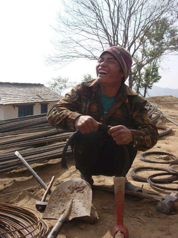 Der Eisenbieger - immer guter Laune