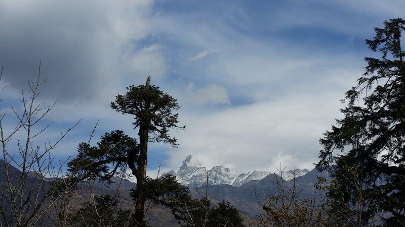 Blick nach Tibet