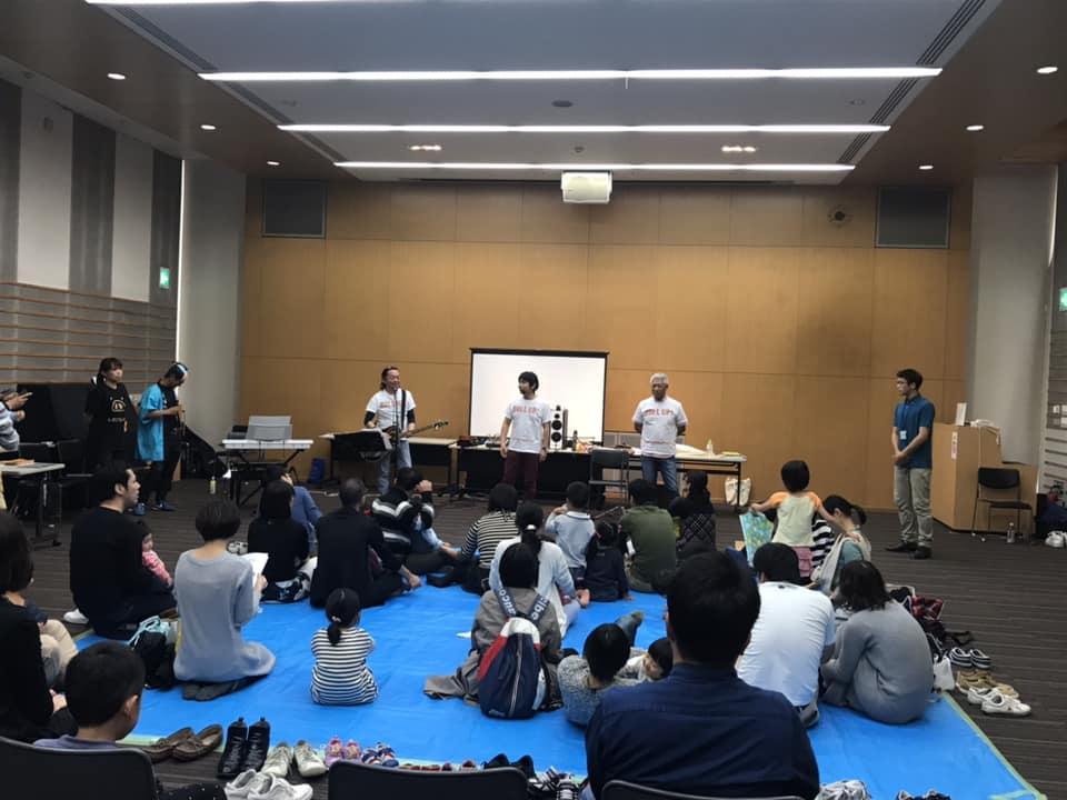 絵本+音楽+ダンス=絵本ライブ
