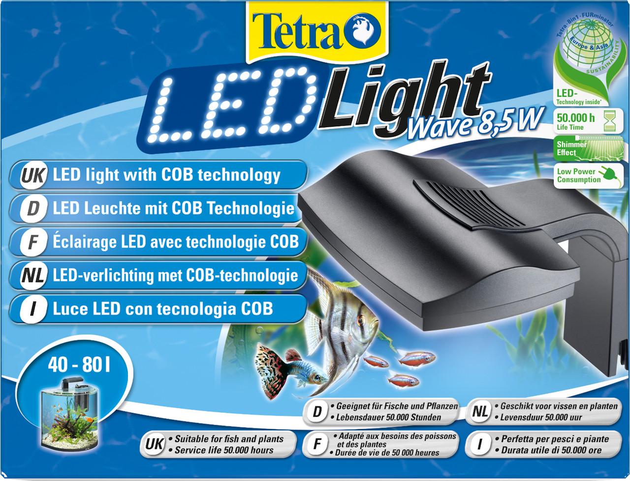 Tetra LED Light Wave 8,5 W - Tribehouse Garnelen