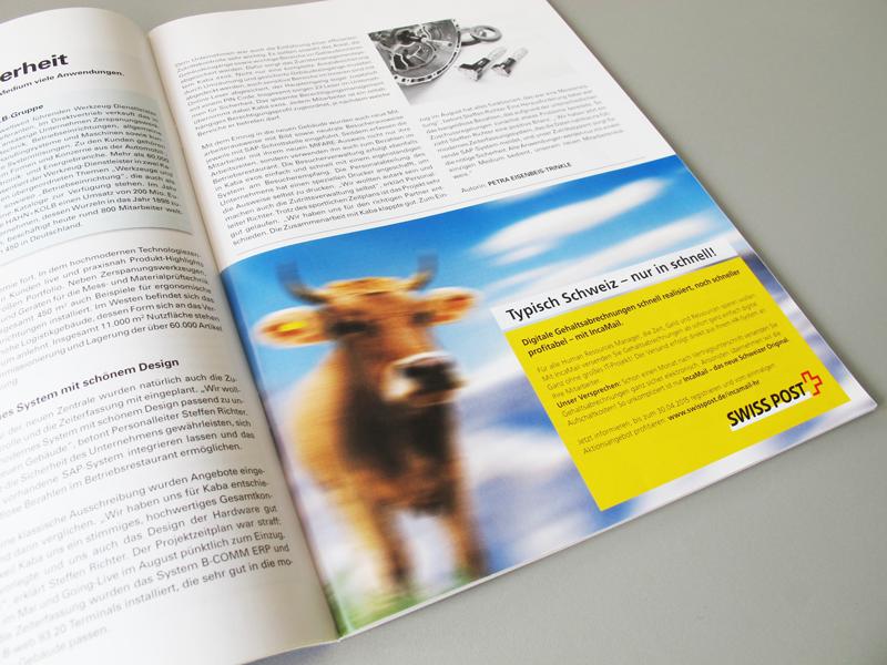 Anzeigen in HR- & Manager-Magazinen