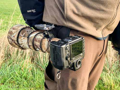 rückenschonende Kamera-Tragesysteme: