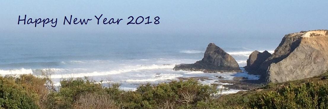 Silvester oberhalb der Praia de Odeceixe