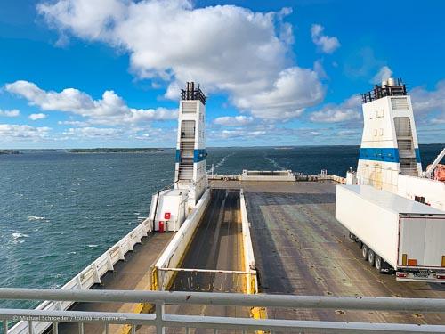Von Schweden nach Finnland: Die Fähre von Kapellskär nach Naantali