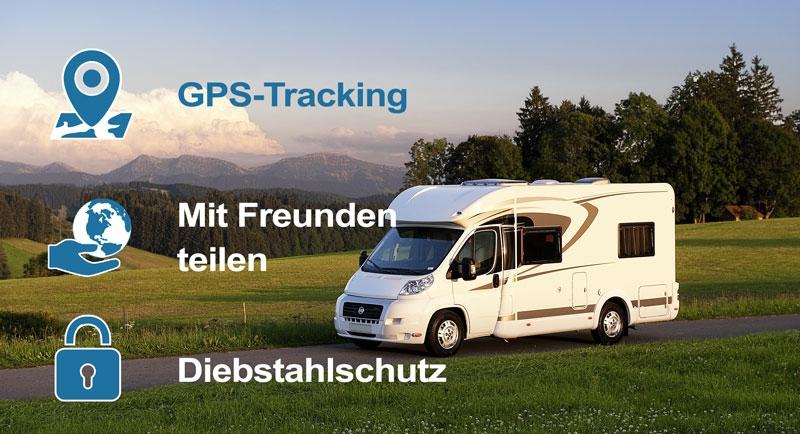 Unser GPS Tracker:
