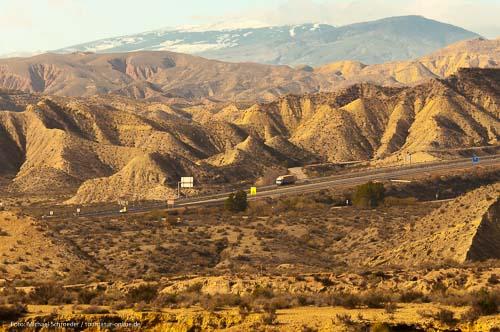 Wüste von Tabernas - einzige echte Wüste Europas