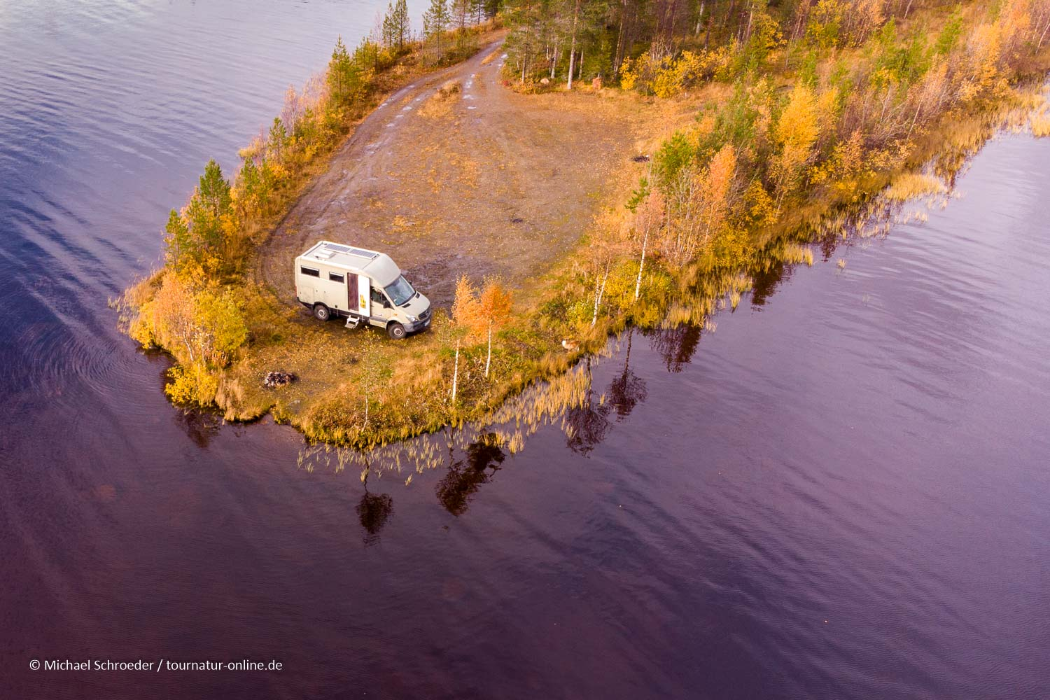 Indian Summer in Lappland