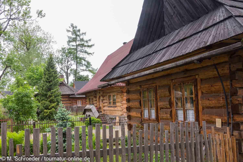 Holzhaus im Zakopane Stil