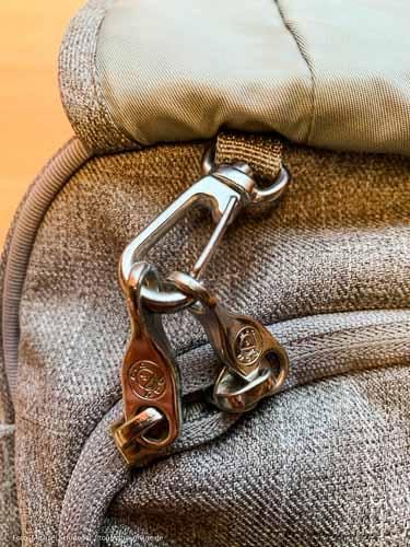 Handtasche mit Diebstahlschutz