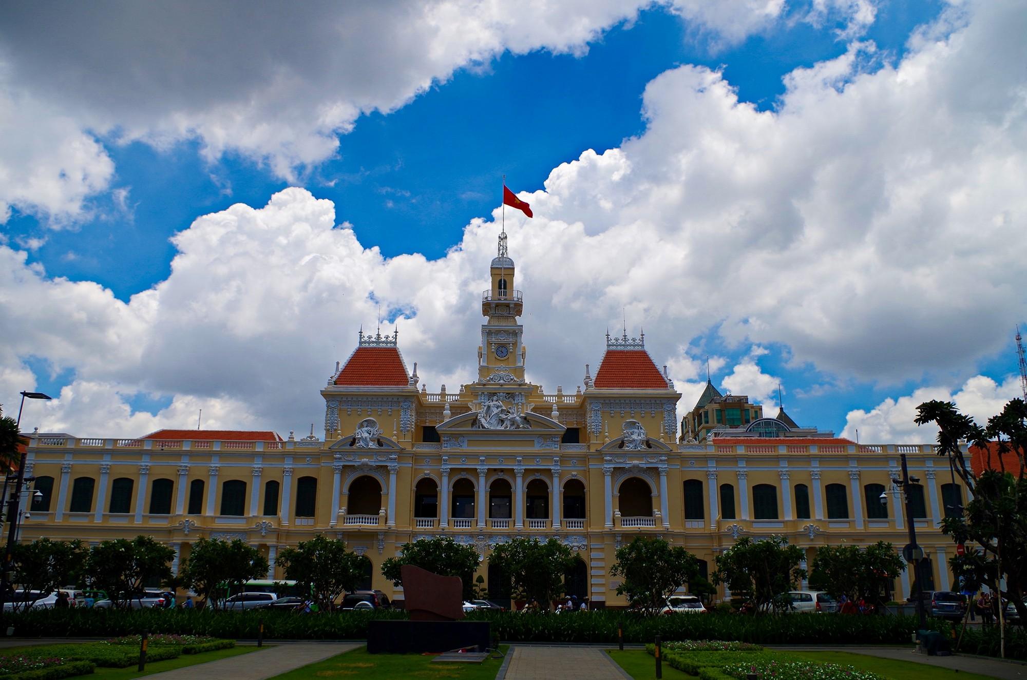 L'Hôtel de Ville d'Ho Chi Minh