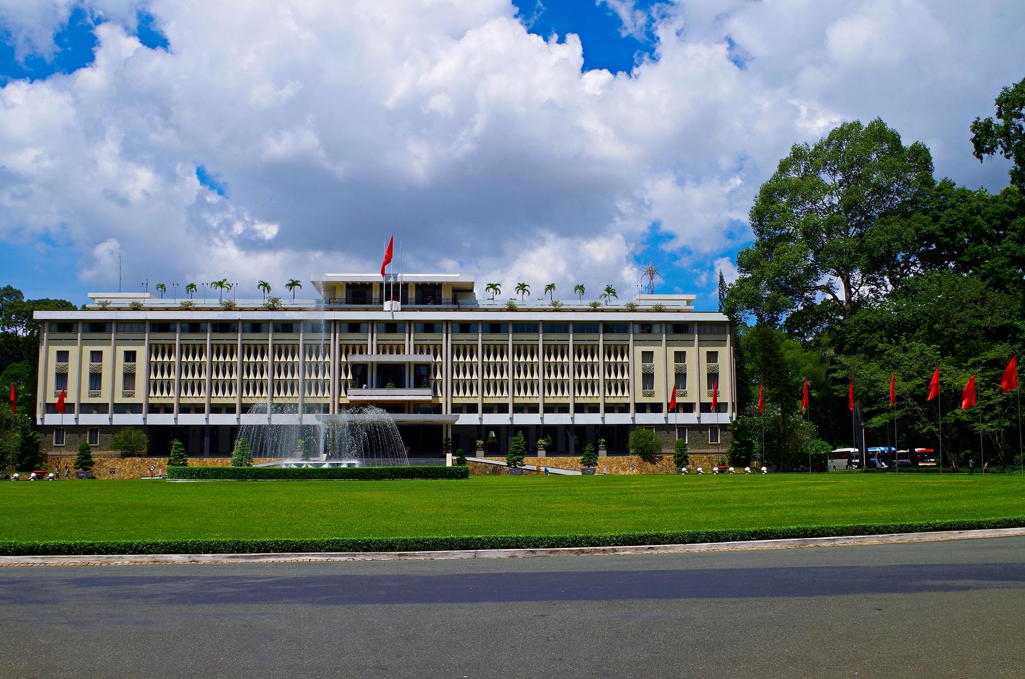 Palais de la réunification - Ho Chi Minh (ex Saïgon)