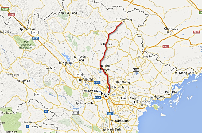 Carte circuit au vietnam jour 2