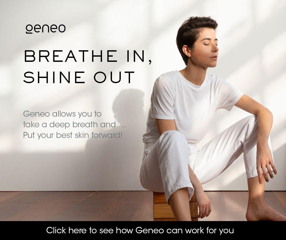 BREATHE IN, SHINE OUT - OXYGENEO behandeling van de maand