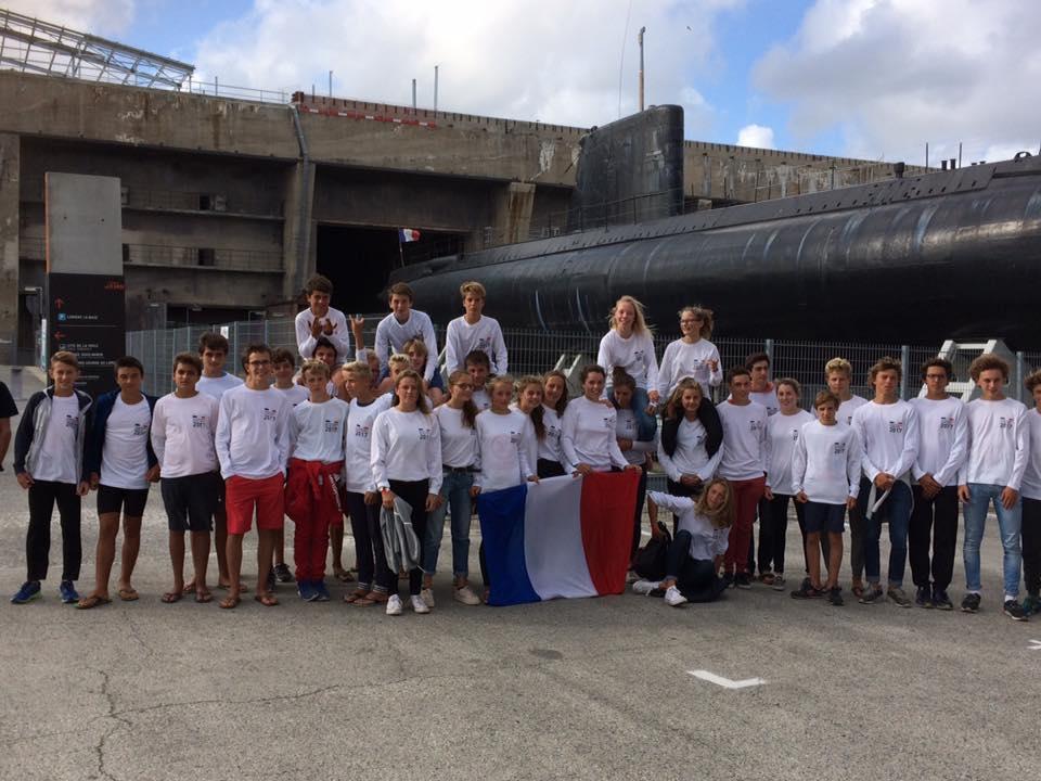 Championnat d'Europe windsurf BIC293 One Design IWA U15 et U17 LORIENT Larmor Plage Juillet 2017