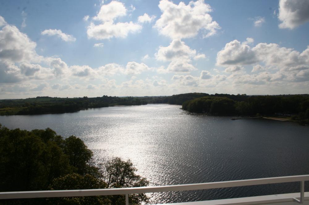 Ausblick vom Balkon - FeWo mit Seeblick