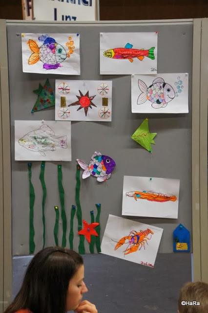 Zeichnungen der Kinder