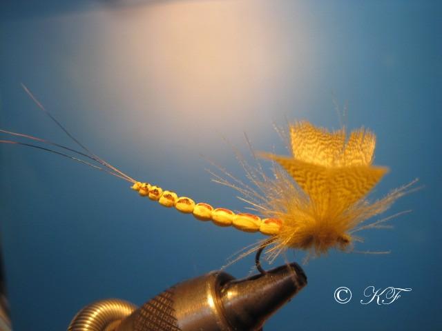 Maifliege mit Extended Body und Mallard Flügel