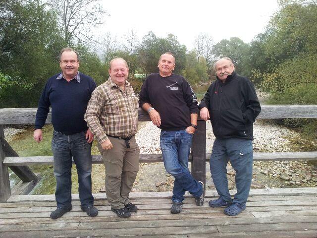 Wolfgang, Josef, Hans und Helmut