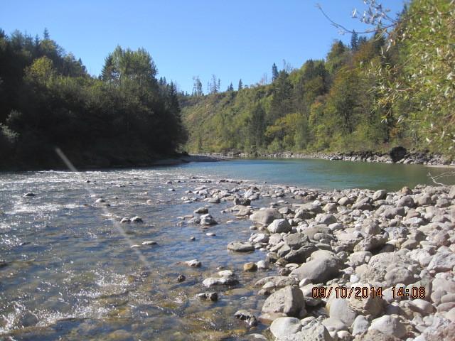 wunderbarer Fluss