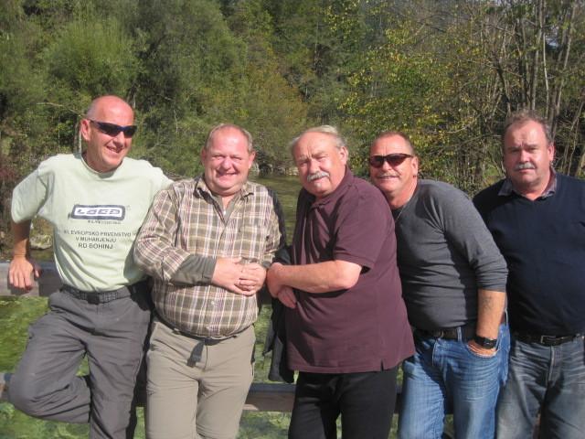 Karl, Josef, Helmut und Hans