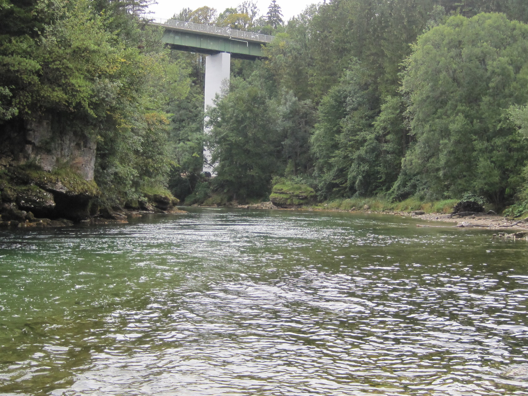 Unterhalb der Molln-Brücke