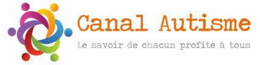 Logo et lien au site www.canalautisme.com pour les informations et formations autisme
