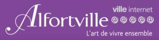 Logo de la ville d'Alfortville; collaboration du pôle handicap d'Alfortville avec le Lycée Maximilien Perret et Bien Vivre l'Autisme