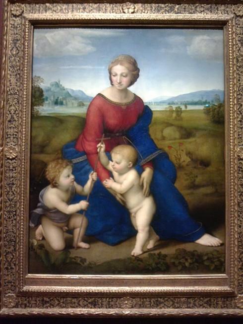 ラファエロ 草原の聖母