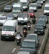 Circulation interfile sur le périphérique parisien