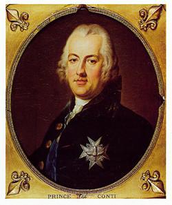 LOUIS FRANCOIS DE BOURBON (1717-1776), PRINCE DE CONTI.