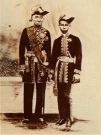 Le Roi Rama IV et le Prince Héritier Chulalongkorn