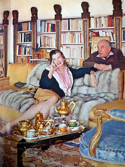 1965. GRAND MOUTON.  PAULINE et PHILIPPE Un couple magique