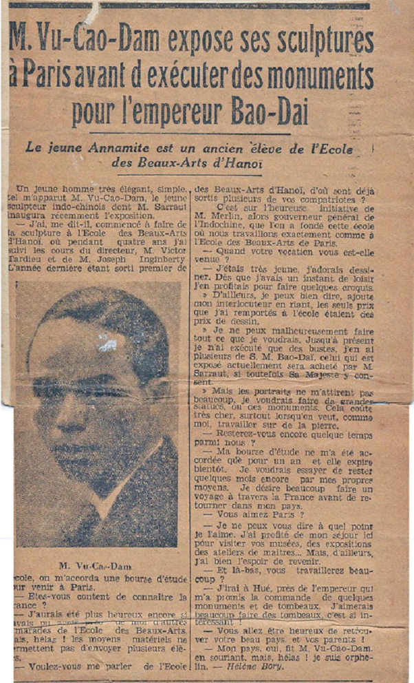 PARIS MIDI 13 OCTOBRE 1932 . C * YANNICK VU JAKOBER