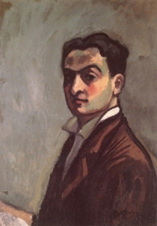 CHARLES CAMOIN (1879 - 1965). AUTOPORTRAIT