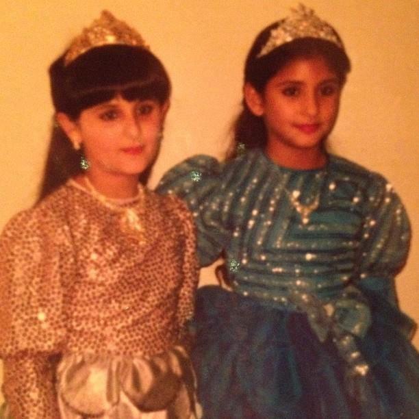 Sheikha MAITHA née en 1980 et sa soeur aînée Sheikha MANAL née en 1977, filles de Sheikha  RANDA AL BANNA DU LIBAN