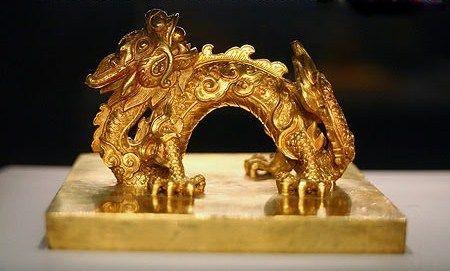 """SCEAU """"MÊNH DUC CHI BAO""""   SOUS L'EMPEREUR GIA LONG (1802/1820. 1762-1820)"""