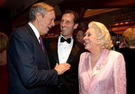 GEORG PATAKI, HAPPY, MARK ROCKEFELLER né en 1967. WALDORF ASTORIA                                                                                                                                   , 29 DECEMBRE 2006.   52è BAL DES DEBUTANTES.
