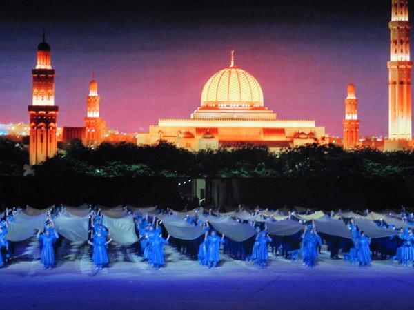 FESTIVITES MARQUANT LES 40 ANS DE REGNE DE SA MAJESTE QABOOS LE 28 NOVEMBRE 2010.