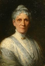 ANNA par Robert HARRIS ..(1849+1919). Huile sur toile