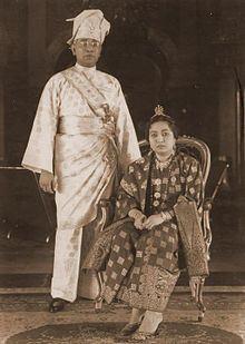 Sultan 0SMAN de DELI. 1945-1967