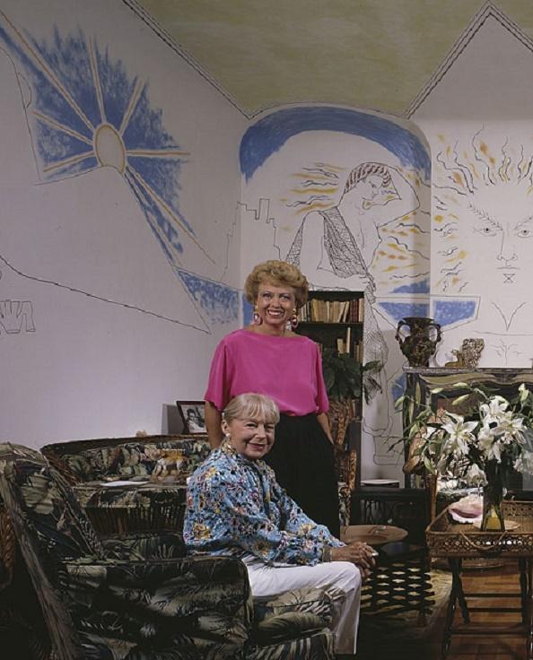 CAROLE et sa maman FRANCINE WORMS-WEISWEILLER