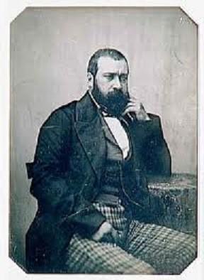 J.F.Millet, photo prise par son ami Félix-Bienaimé Feuardent.