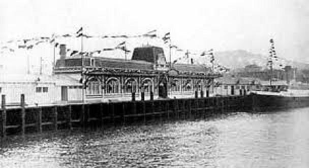 3 juillet 1912.   Inauguration de la gare maritime de Cherbourg.