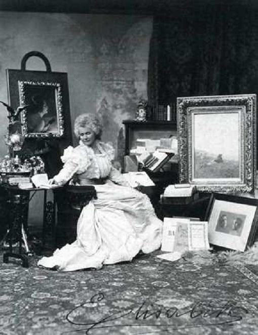 LA REINE ELIZABETH, née PRINCESSE DE WIED, FEMME DE LETTRES SOUS LE NOM  DE CARMEN SYLVA.