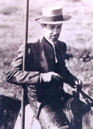 DON EDUARDO II MIURA FERNANDEZ. 17 MARS 1914+27 JUILLET 1996 à SEVILLE.